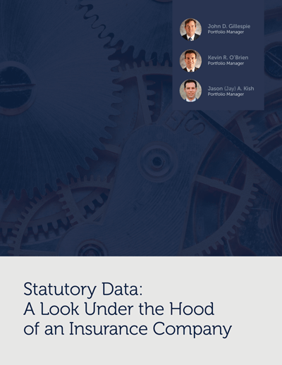 Statutory Data: A Look Under the Hood of an Insurance Company